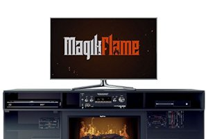 MagikFlame Chronus Media Center Electric Fireplace Review