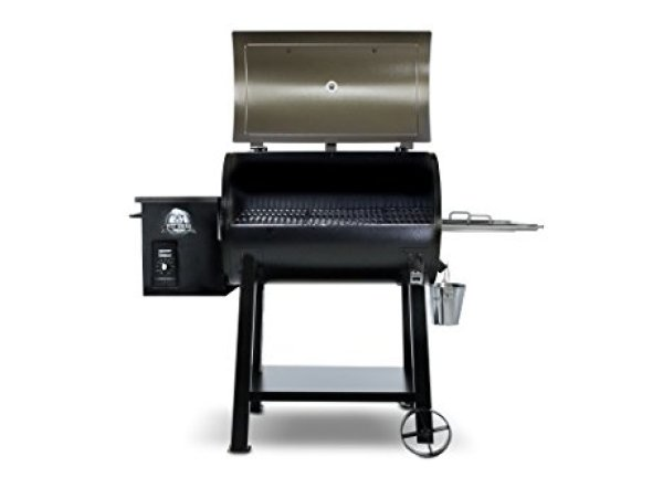 Pit Boss Pellet Grill Reviews: Pit Boss Grills 77440 Deluxe Wood Pellet Grill