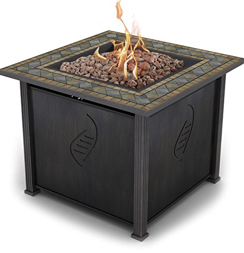 Compare with Blue Rhino Outdoor Propane Gas Fire Pit vs. Bond Rockwell 68156 Gas Fire Table
