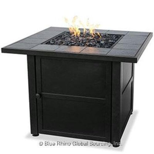 Compare with Crawford Outdoor Square Liquid Propane Fire Pit vs. Endless Summer GAD1399SP