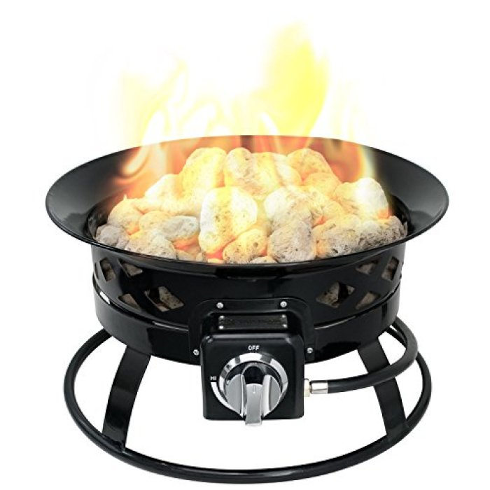 What's the disadvantage of the Sunward Patio Propane Fire Pit?