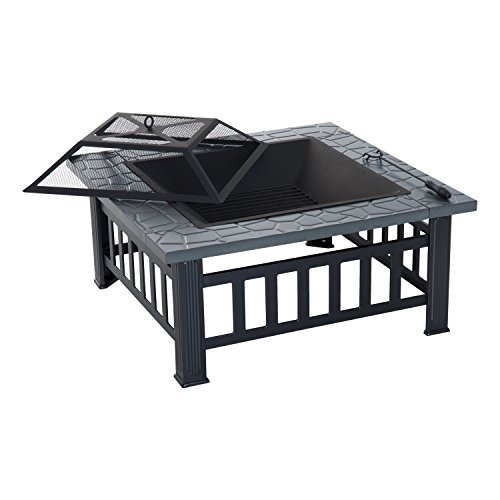 Outsunny Outdoor Patio Backyard Fire Pit Review