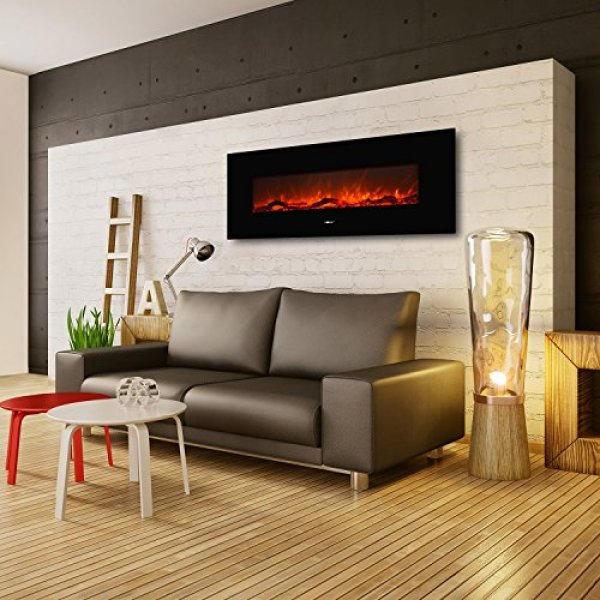 What users saying about the Ollieroo Smokeless Wall Mounted Electric Fireplace?