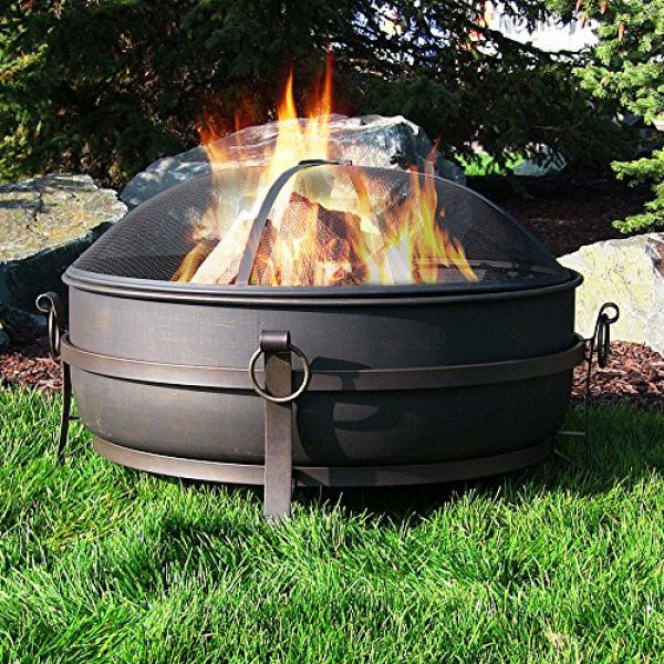 Sunnydaze Large Outdoor Fire Pit Review