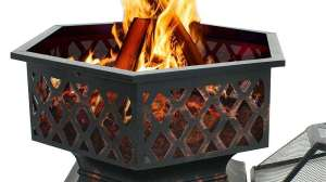 F2C Outdoor Hex Shape Fire Pit Review