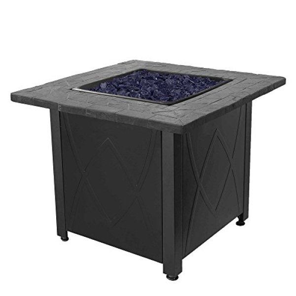 Compare with Blue Rhino Outdoor Propane Gas Fire Pitvs.Outland Living Series 401- Slate Grey Fire Table