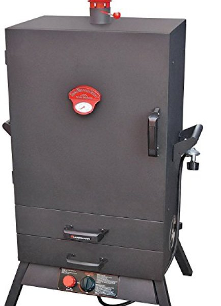 Top 5 Landmann Smoker Reviews - Landmann USA 3895GWLA Smoky Mountain Vertical Gas Smoker