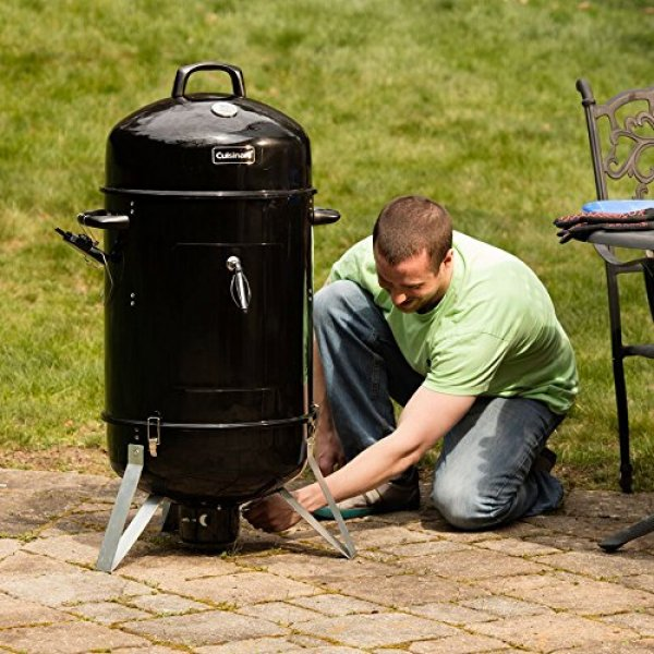What Users Are Saying About Cuisinart COS-118 Vertical Charcoal Smoker