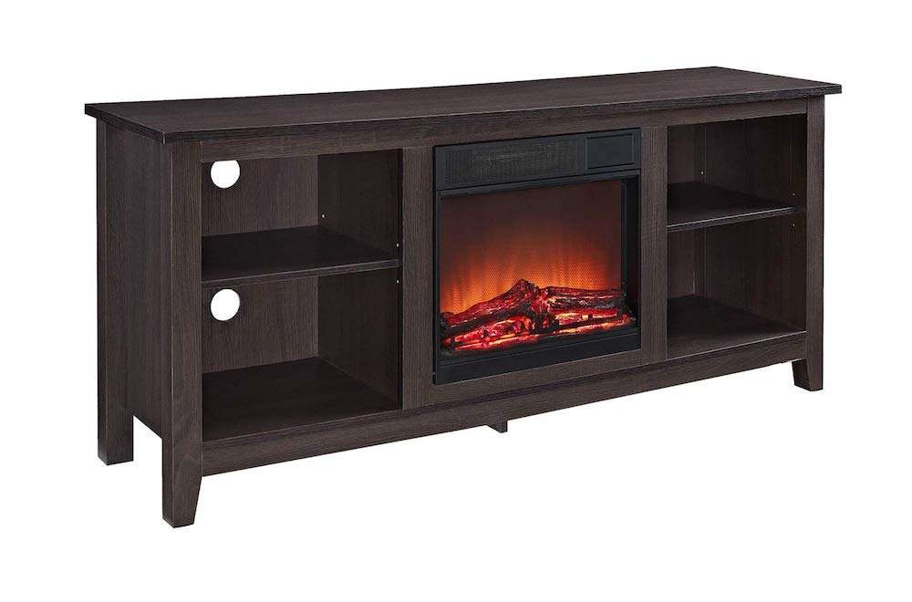 Walker Edisson W58FP18ES Fireplace Tv Stand
