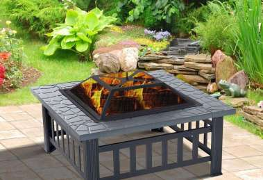 What users saying about Outsunny Outdoor Backyard Fire Pit?
