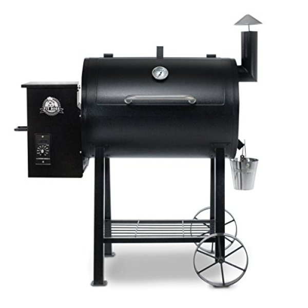 Compare Pit Boss 71820FB Pellet Grill vs. Royal Gourmet Charcoal Grill CC1830F