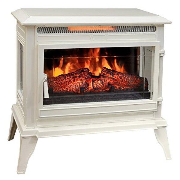 Comfort Smart CS-25IR-CRM Infrared Electric Fireplace Stove