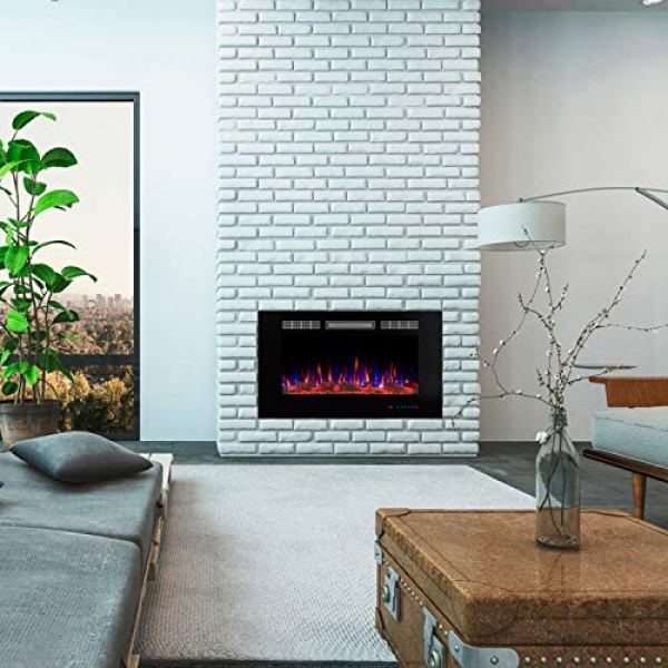 Why Should You Choose Valuxhome Armanni Wall Recessed Fireplace or Not