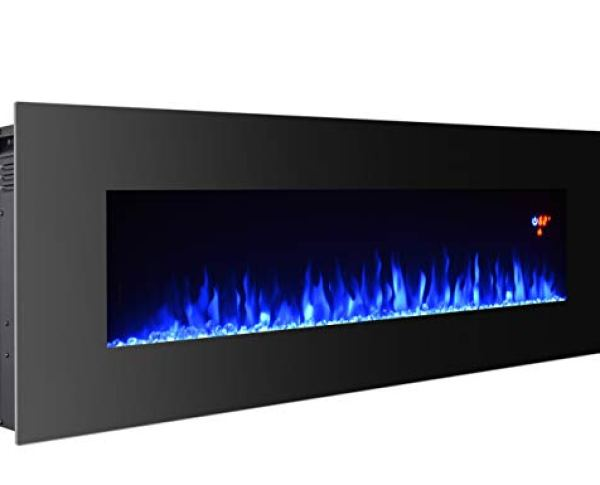 Compare BCP Electric Wall Mounted Fireplace Heater with 3G Plus Electric Fireplace