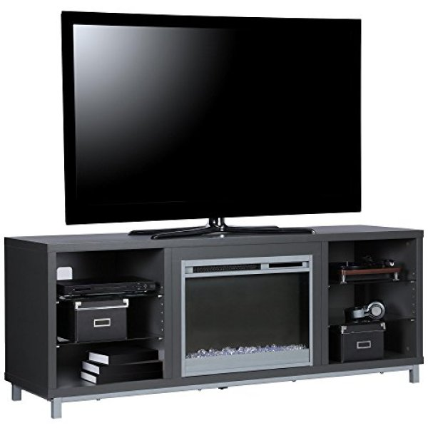 What Users Saying About Ameriwood Home Lumina Fireplace TV Stand