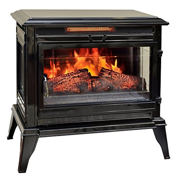 Comfort Smart Jackson Infrared Electric Fireplace Stove Review
