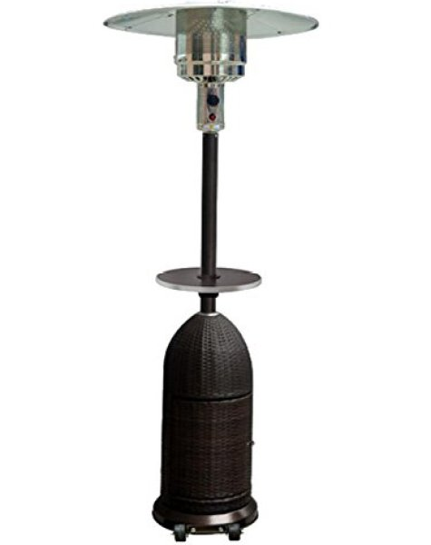 What users saying about the Tall Resin Wicker Patio Heater Table?