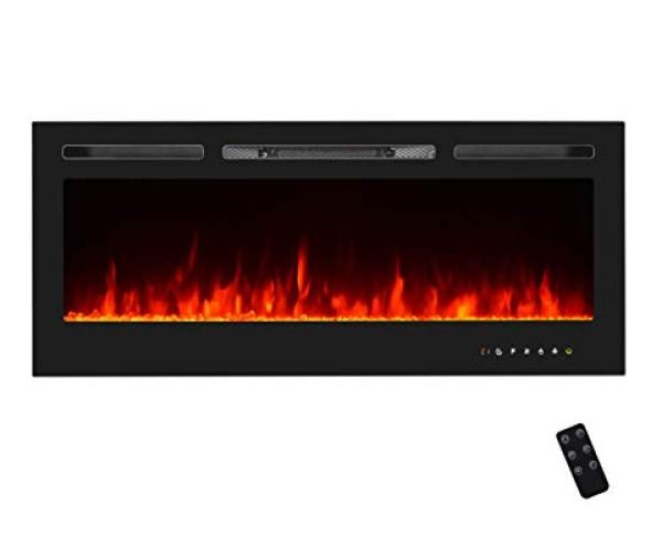 U-MAX Recessed Wall Mounted Electric Fireplace Review