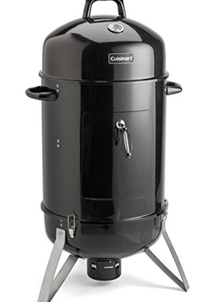 Compare The Dyna-Glo DGX780BDC-D Vertical Charcoal Smoker With Cuisinart COS-118 Vertical Charcoal Smoker