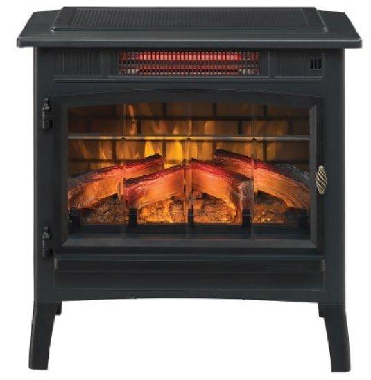Compare Duraflame Infrared Quartz Electric Stove Heater (DFI-550-36) With Duraflame DFI-5010-01 Infrared Quartz Fireplace Stove