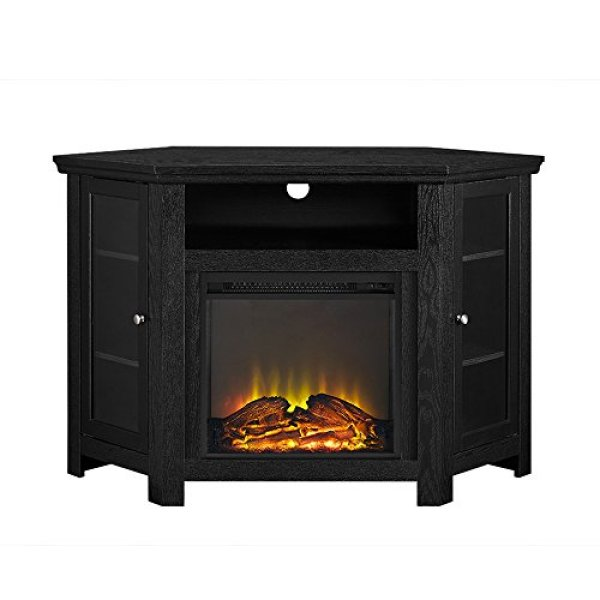 What Users are Saying About the WE Furniture Corner TV Stand Fireplace Console