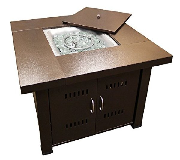 Compare Hiland GSF-PR-PC Fire Pit with the AZ Patio Heaters GS-F PC Propane Fire Pit