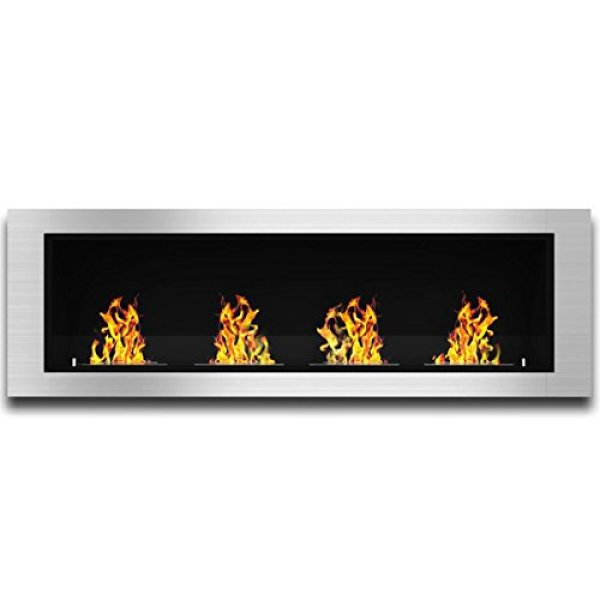 Regal Flame Charlotte Bio Ethanol Wall Mounted Fireplace Review