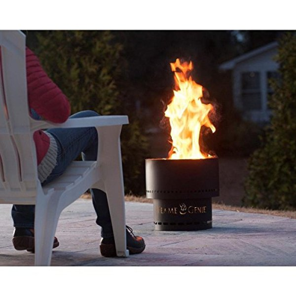 HY-C Flame Genie FG-16 Wood Pellet Fire Pit Review