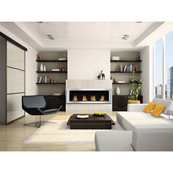 What users are saying about the Regal Flame Charlotte Bio Ethanol Wall Mounted Fireplace?