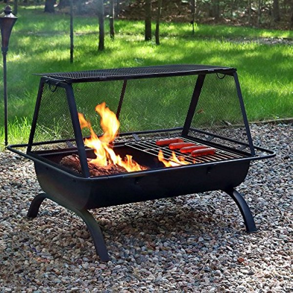 What Users Are Saying About Sunnydaze Northland Outdoor Fire Pit