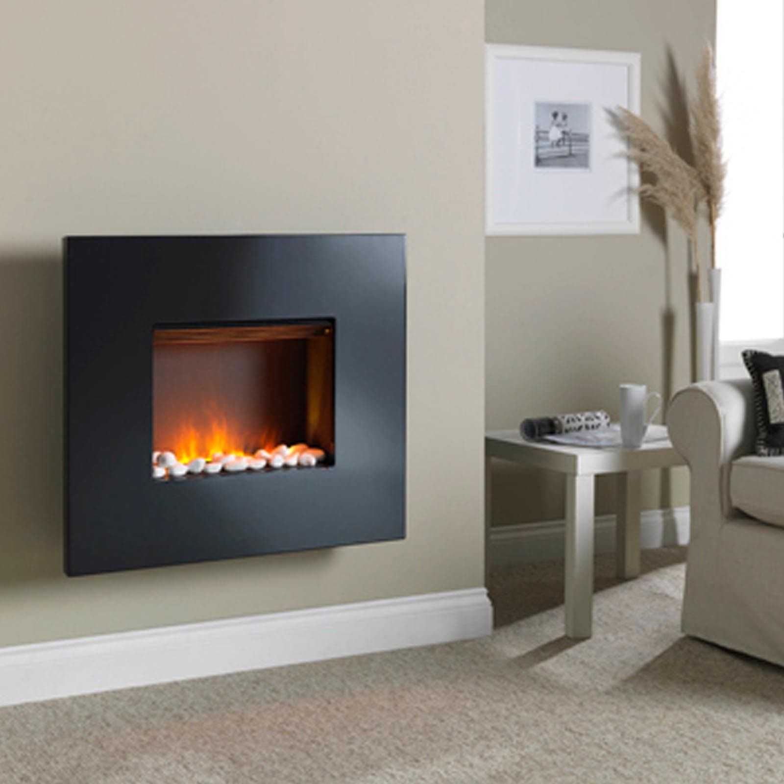 Dimplex Pemberley Opti Myst Wall Mounted Electric Fire