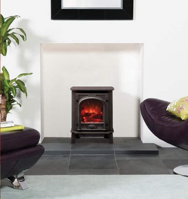 Gazco Stockton2 Small Electric Stove Fireplace Superstores