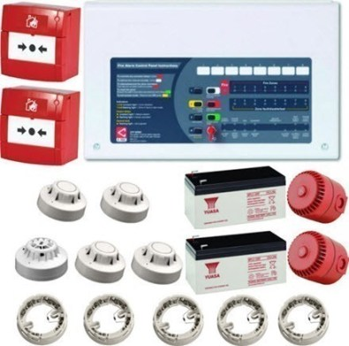 conventional fire alarm kit