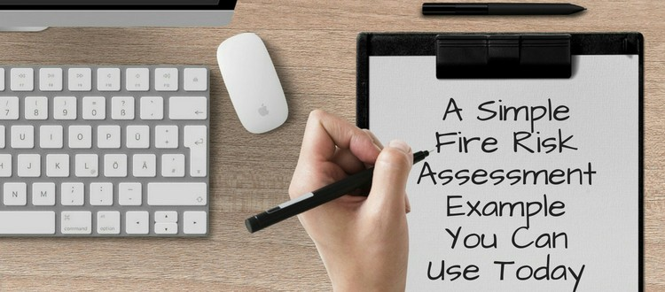simple fire risk assessment