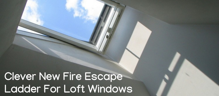 fire escape ladder for loft windows