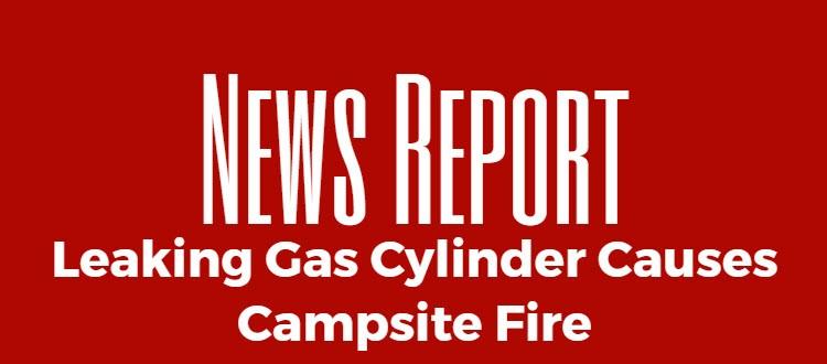 gas cylinder fire