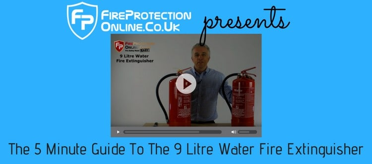 The 5 Minute Guide To 9 Litre Water Fire Extinguisher