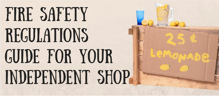 shop fire safety regulations
