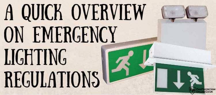 emergency lighting regulations
