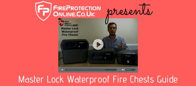 Master Lock Waterproof Fire Chests Guide