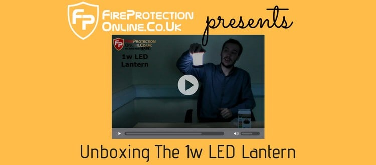 Unboxing The 1w LED Lantern