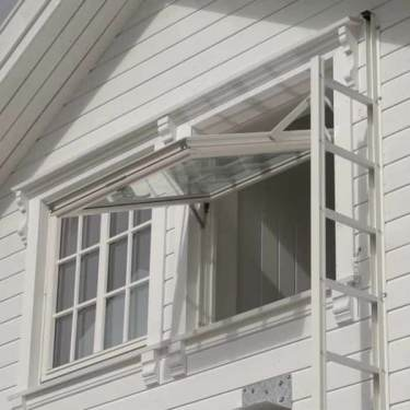 Fold Out Escape Ladder