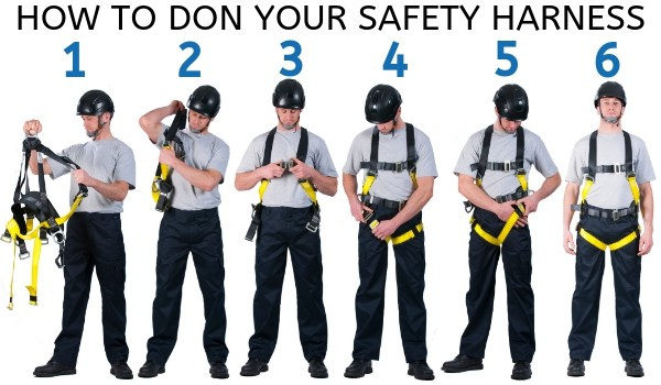 How To Don Your Safety Harness