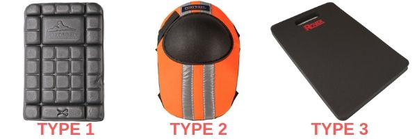 Knee Pad Types