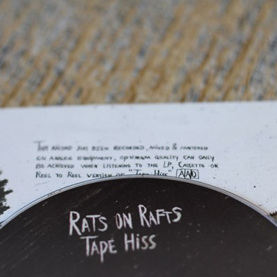 Rats on Rafts - Tape Hiss - CD