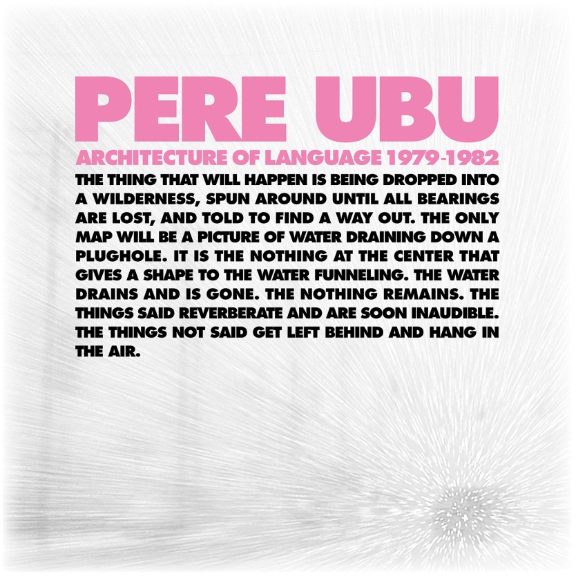 Pere Ubu - Architecture of Language