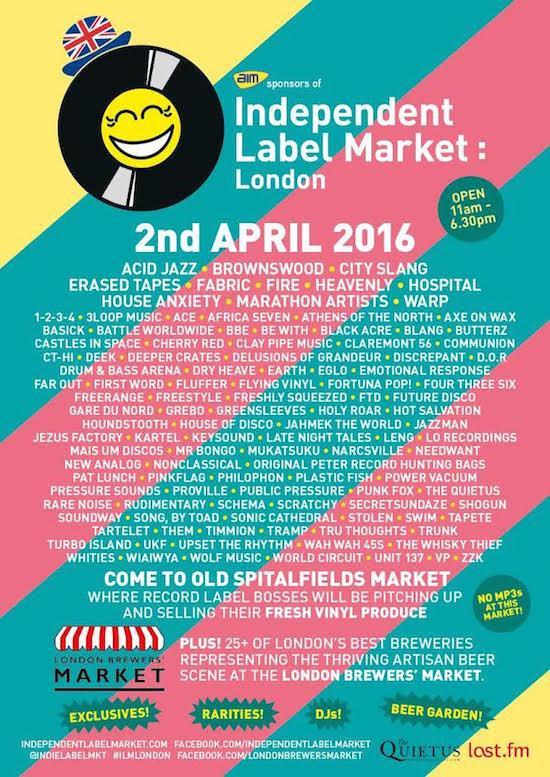 Indie Label Market - Easter 2016