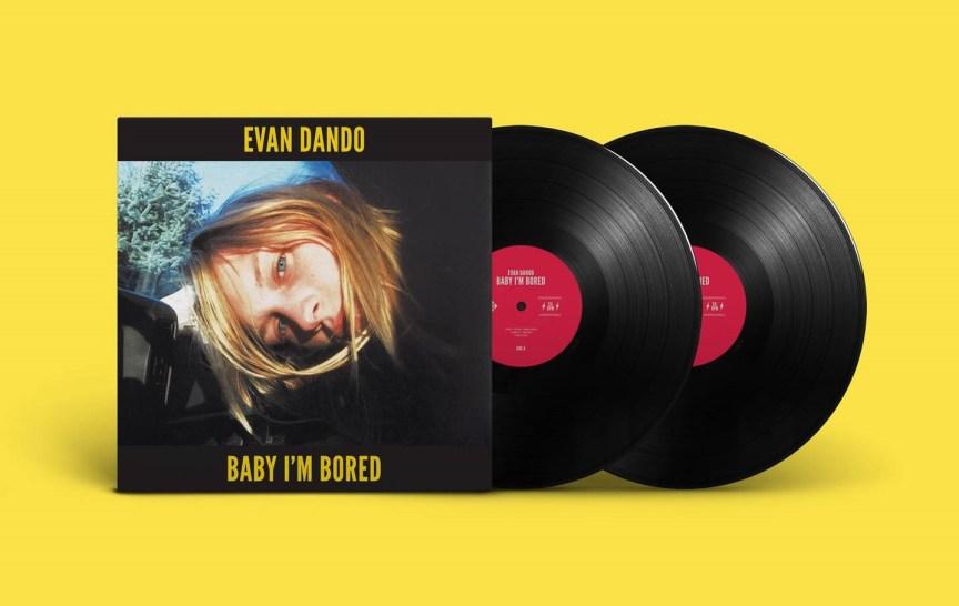 evan dando - baby im bored 2LP