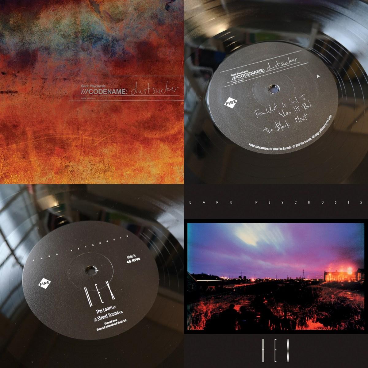 Bark Psychosis 'Hex' & 'Codename: Dustsucker' LP Bundle