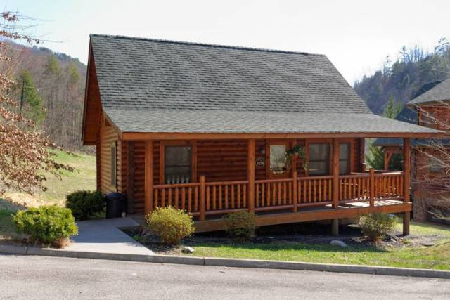 Little Valley 123 Pigeon Forge Two Bedroom Cabin Al With Seasonal Swimming Pool Access